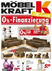 Möbel Kraft 0%-Finanzierung März 2013 KW10