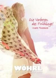 Wöhrl Die Vorboten des Frühlings! Frühjahr 2013 März 2013 KW10