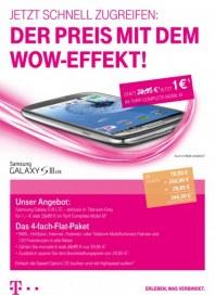 Telekom Shop Der Preis mit dem Wow-Effekt März 2013 KW10