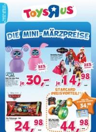 Toys'R'us Die Mini-Märzpreise März 2013 KW10