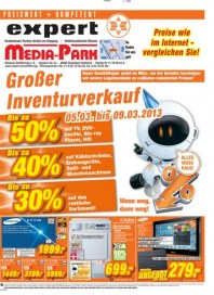 expert Media Park Großer Inventurverkauf März 2013 KW10