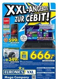 Euronics XXL Angebote zur CEBIT März 2013 KW10