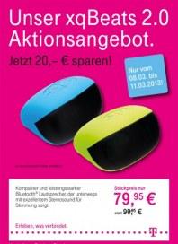 Telekom Shop Unser xqBeats 2.0 Aktionsangebot März 2013 KW10