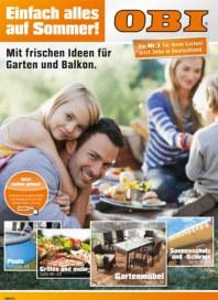 OBI Mit frischen Ideen für Garten und Balkon März 2013 KW12