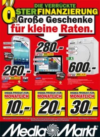 MediaMarkt Große Geschenke für kleine Raten März 2013 KW12