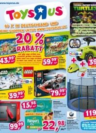 Toys'R'us 20% Rabatt März 2013 KW12