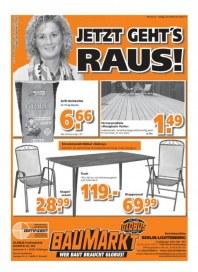 Globus Baumarkt Haupflyer März 2013 KW12 1