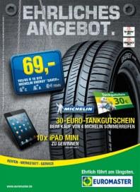 Euromaster Reifen Ehrliches Angebot April 2013 KW16