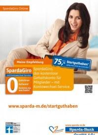 Sparda-Bank München eG Meine Empfehlung April 2013 KW16