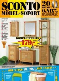 Sconto Frühlingspreise April 2013 KW15