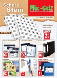 Mäc-Geiz Aktuelle Angebote April 2013 KW17 3