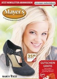 Mayer's Markenschuhe Monatsflyer April 2013 KW16