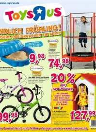 Toys'R'us Aktuelle Angebote April 2013 KW17
