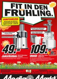 MediaMarkt Fit in den Frühling April 2013 KW17