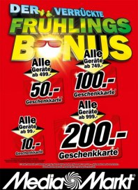 MediaMarkt Der verrückte Frühlings-Bonus April 2013 KW17