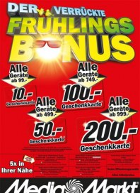 MediaMarkt Der verrückte Frühlings-Bonus April 2013 KW17 4