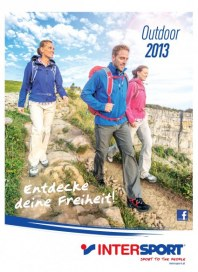 Intersport Intersport Outdoor-Katalog 2013 April 2013 KW15
