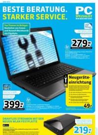 PC-SPEZIALIST Beste Beratung. Starker Service Mai 2013 KW22