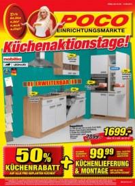 POCO Küchenaktionstage Mai 2013 KW22