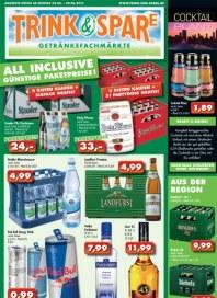 Trink und Spare Angebote Juni 2013 KW23