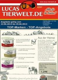 Lucas Tierwelt TOP-Marken - TOP-Angebote Juni 2013 KW25 1