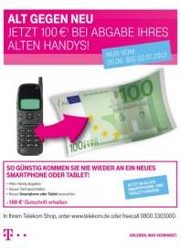 Telekom Shop Alt gegen neu Juni 2013 KW25