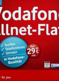 Vodafone Vodafone Allnet Flat Juli 2013 KW27