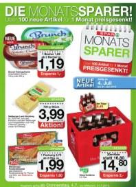 SPAR Spar Monatssparer 04.07. - 31.07.2013 Juli 2013 KW27