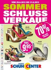 SIEMES Schuhcenter Exklusiv im Online-Shop Juli 2013 KW27