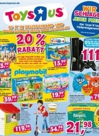 Toys'R'us 20% Rabatt Juli 2013 KW27