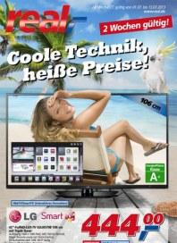 real,- Sonderbeilage – Coole Technik, heiße Preise Juli 2013 KW27