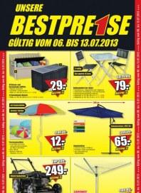 B1 Discount Baumarkt Aktuelle Angebote Juli 2013 KW27