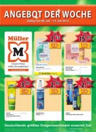 Müller Angebot der Woche Juli 2013 KW28