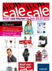 KARSTADT 08.07.2013 Wow! Sale Juli 2013 KW28