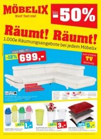 MÖBELIX Möbelix Räumt Räumt 08.07. - 20.07.2013 Juli 2013 KW28