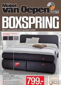 Möbel van Oepen Boxspring Juli 2013 KW28