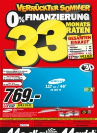 MediaMarkt Verrückte 0% Sommerfinanzierung Juli 2013 KW28 5