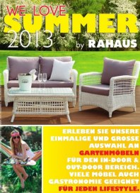 Rahaus Monstprospekt 07/2013 Juli 2013 KW28