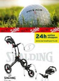 KARSTADT 11.07.2013 Karstadt sports - Golfmailing Juli 2013 KW28