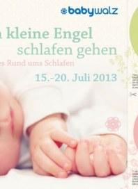 Baby Walz Wenn kleine Engel schlafen gehen Juli 2013 KW29
