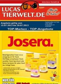 Lucas Tierwelt TOP-Marken - TOP-Angebote Juli 2013 KW29