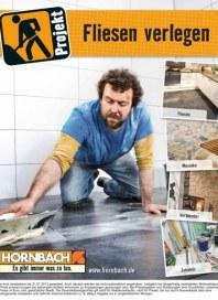 Hornbach Projekt Fliesen verlegen 04 / 2013 Fliesen, Mosaike, Verblender, Zubehör Juli 2013 KW29