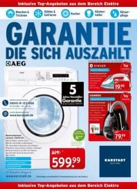 KARSTADT 16.07.2013 Elektro - Garantie die sich auszahlt Juli 2013 KW29
