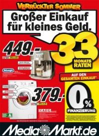 MediaMarkt Großer Einkauf für kleines Geld Juli 2013 KW29