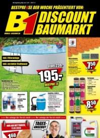 B1 Discount Baumarkt Baumarkt-Angebote Juli 2013 KW28