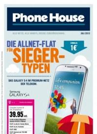 Phone House Smartphone Angebote Juli 2013 KW27