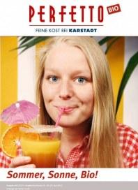 Perfetto Karstadt Feinkostmarkt Bio-Angebote Juli 2013 KW28