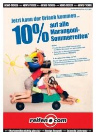 Reifen.com 10% Rabatt auf Marangoni-Sommerreifen Juli 2013 KW27