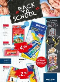 KARSTADT 23.07.2013 Back to School Juli 2013 KW30