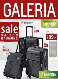 Galeria Kaufhof Lederwaren Sale 17.07 Juli 2013 KW30